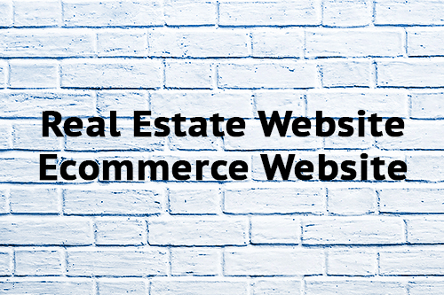 Real Estate Website Ecommerce Website