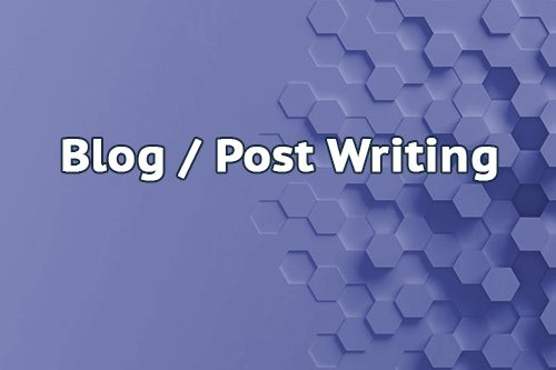 Blog Post Writing
