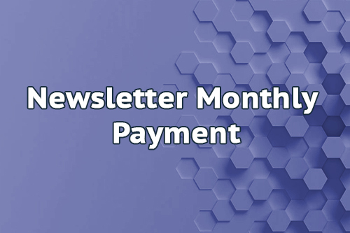 Newsletter Month Payment