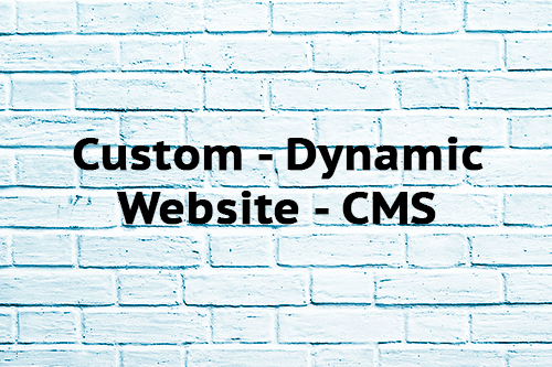 Custom Dynamic Website CMS