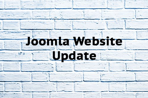 Joomla Website Update