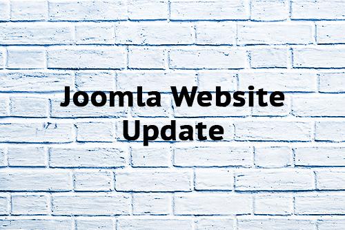Joomla Website Update