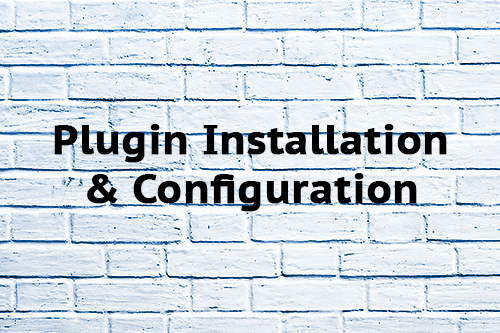 Plugin Installation & Configuration
