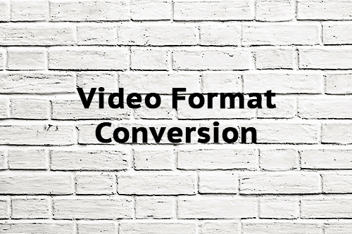 Video Format Conversion
