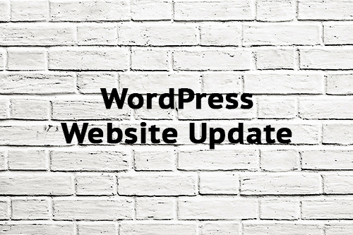 WordPress Website Update