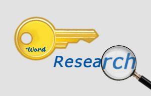 Recherche de mots-clés